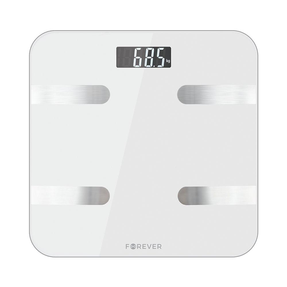 Forever Osobní bluetooth váha AS-100 bílá PN