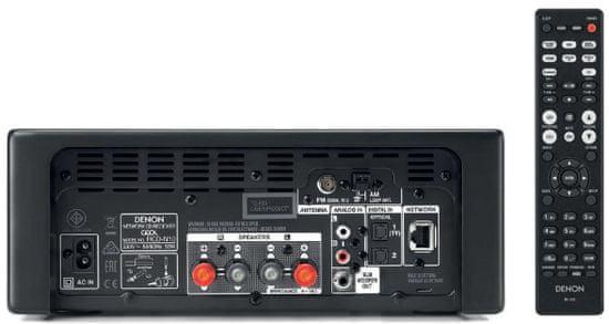 DENON RCD-N10 CEOL, sivá + Polk S20e, čierna