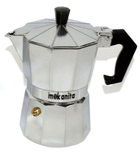 DUE ESSE Sada Mokanita 2 ks kávovarů, 1 a 3 šálky - zánovní