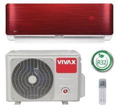 Vivax ACP-12CH35AERI, klimatska naprava, rdeča