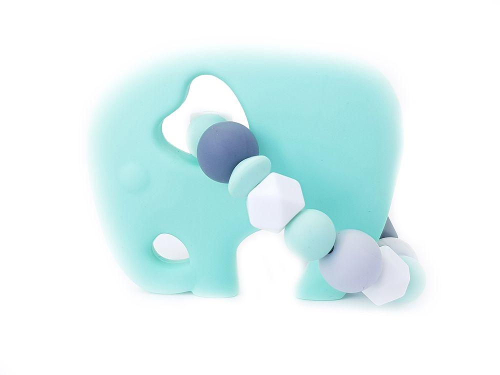 KidPro Silikonové kousátko: Sloník Toník
