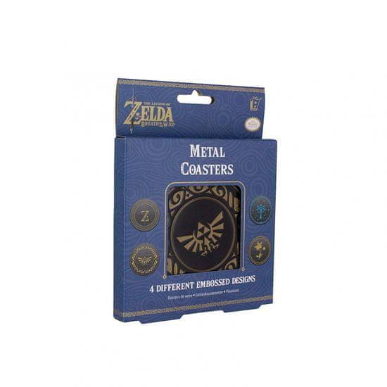 Paladone The Legend Of Zelda Metal Coaster, podmetači