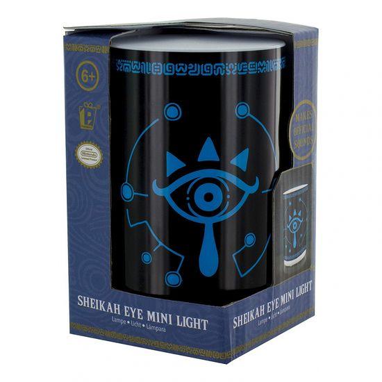Paladone The Legend Of Zelda Sheikah Eye Mini Light With Sound, stolna svjetiljka