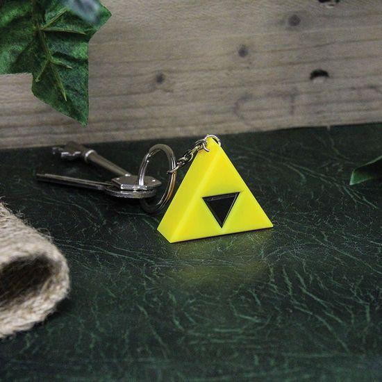 Paladone The Legend Of Zelda Tri-Force Key Light, privjesak za ključeve