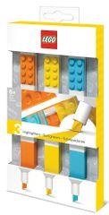 LEGO zakreślacze, miks kolorów - 3 szt.