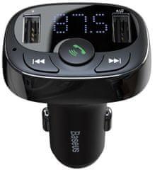 BASEUS Baseus 2xUSB-A avto polnilec FM oddajnik