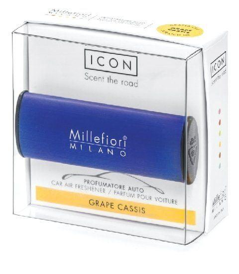 Millefiori Milano ICON vůně do auta Grape Cassis 47 g
