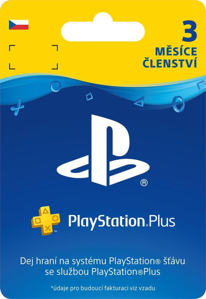 Sony PlayStation Plus 3měsíční členství (SCEE-XX-S0015597) - elektronicky