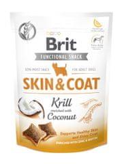 Brit przysmaki dla psów Care Dog Functional Snack Skin & Coat Krill 150 g