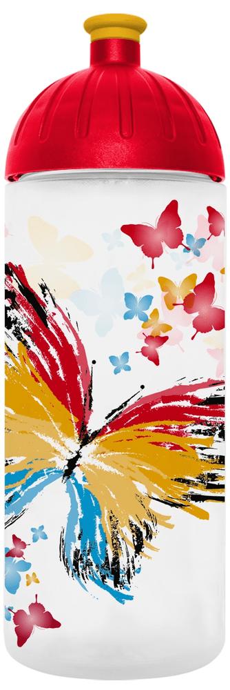FreeWater láhev 0,7l Motýl transparentní, FREEWATER