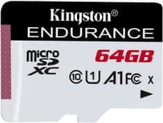 Kingston spominska kartica Micro SDXC 64GB SDCE/64GB High Endurance