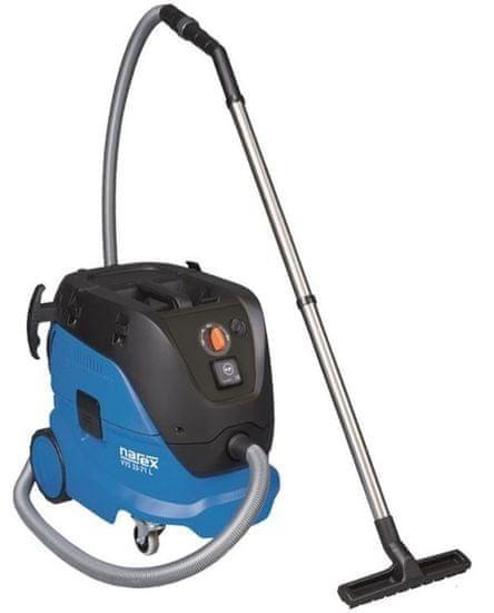 Narex odkurzacz przemysłowy VYS 33-71 1250 W 30 l z automatycznym czyszczeniem filtra