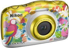 Nikon Coolpix W150, digitalni fotoaparat rumena/bela