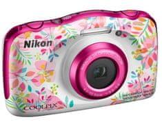 Nikon Coolpix W150, digitalni fotoaparat bela/roza