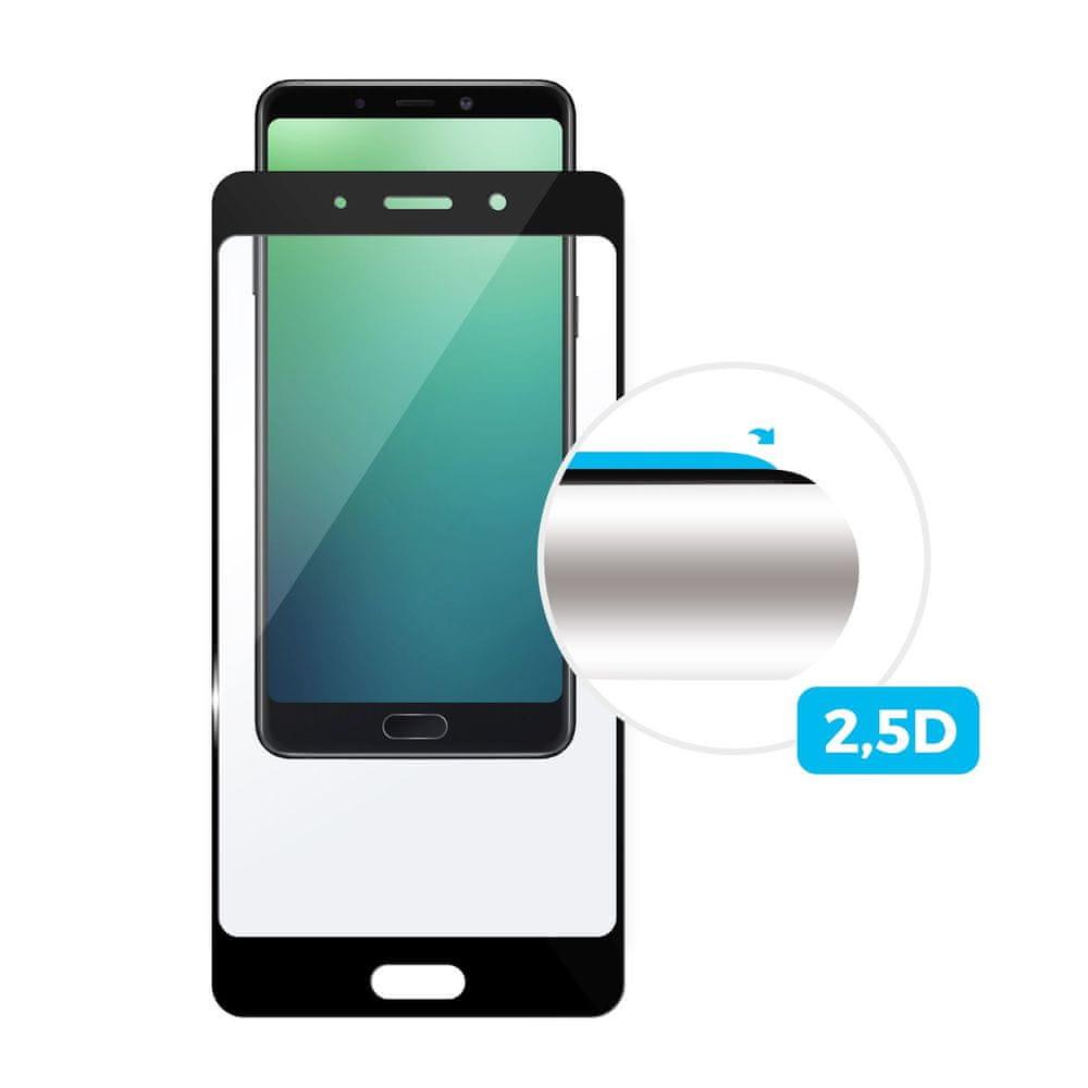 Fixed Ochranné tvrzené sklo Full-Cover pro Samsung Galaxy A70, černé FIXGFA-402-BK