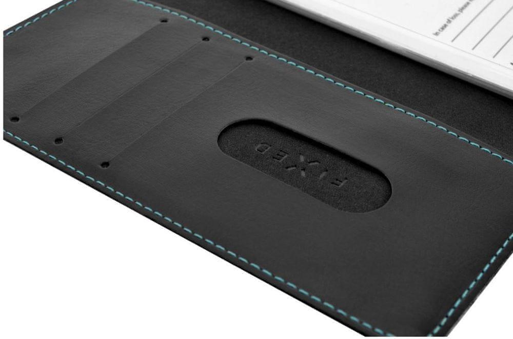 FIXED Pouzdro typu kniha Opus pro Nokia 7.1 Plus, černé FIXOP-356-BK