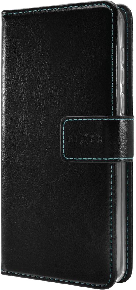 Fixed Pouzdro typu kniha Opus pro Asus Zenfone Max M1 (ZB555), černé FIXOP-414-BK