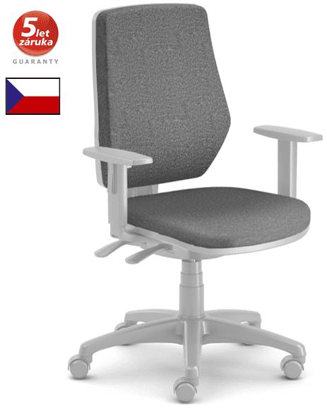 emagra kancelářská židle LEX 229/BG- šedý plast - černá