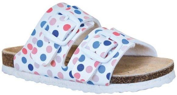 Protetika dívčí ortopedické pantofle 32 bílá