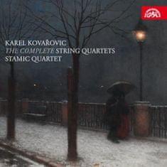 Stamicovo kvarteto: Karel Kovařovic: Smyčcové kvartety - CD