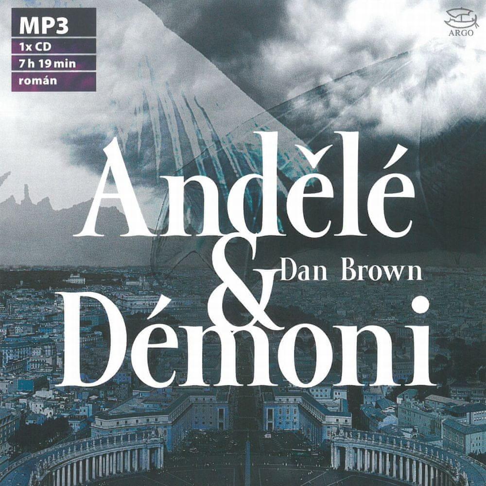 Brown Dan: Andělé a démoni - MP3-CD