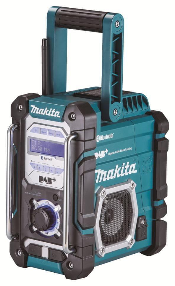 Makita DMR112 rádio s DAB a Bluetooth