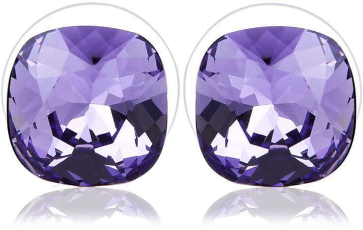 Vicca Náušnice Small Square Violet OI_405052_violet