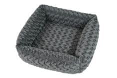 O´ lala Pets Cube Fuzzy 53 cm, siva