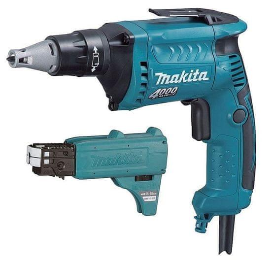 Makita FS4000X2 Skrutkovač 570 W pre sadrokartón s podávačom