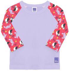 Bambinomio dívčí plavecké tričko UV 50+ S (0-6 měsíců)