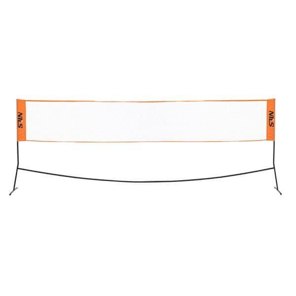 NILS Badmintonová síť se stojany SB520