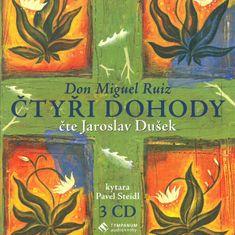 Ruiz Don Miguel: Čtyři dohody (3x CD) - CD