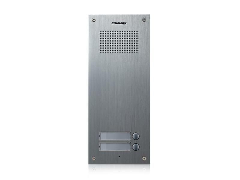 COMMAX DR-2UM, dveřní audiostanice pro systém 4+n se 2 tlačítky