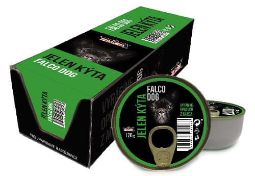 FALCO Dog szarvascomb 8x120g