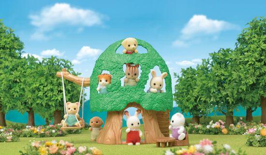 Sylvanian Families domek na drzewie
