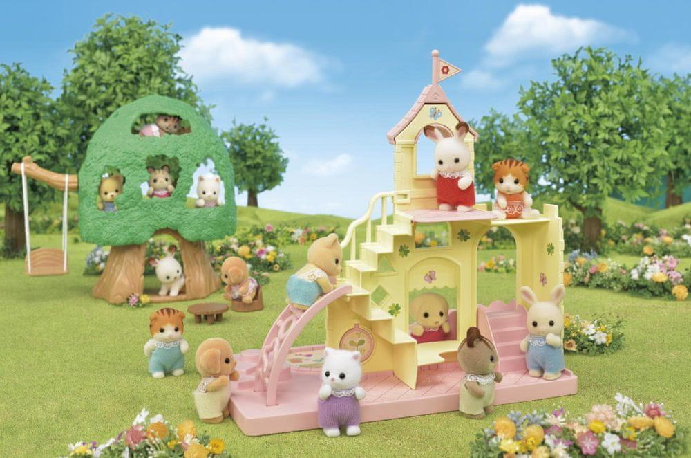 Sylvanian Families Dětské hradní hřiště