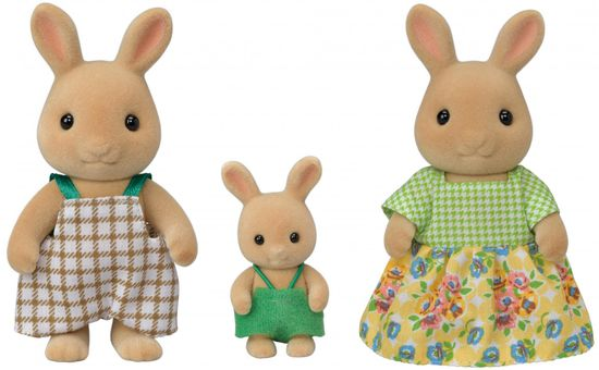 Sylvanian Families rodzina 3 słonecznych króliczków