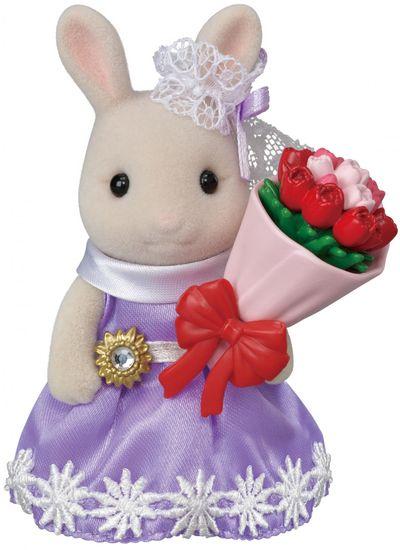 Sylvanian Families królik z kwiatami