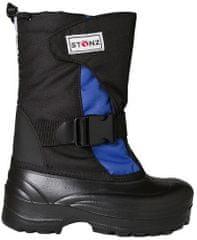 Stonz fiú téli cipő 37 fekete/kék