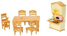 Sylvanian Families Set jídelna
