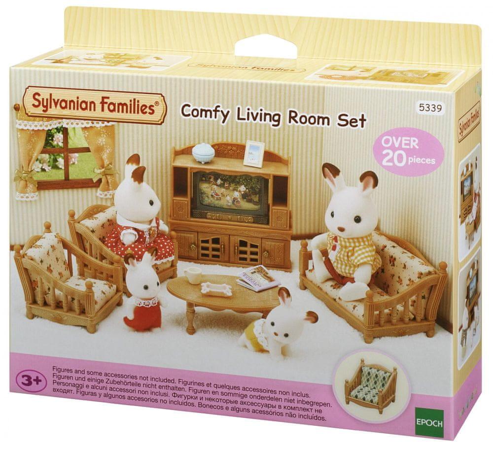 Sylvanian Families Obývací pokoj s TV
