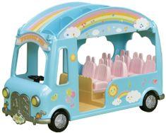 Sylvanian Families Zabaven mavrični avtobus
