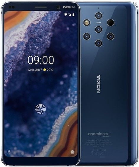Nokia 9 PureView, 6GB/128GB, Midnight Blue