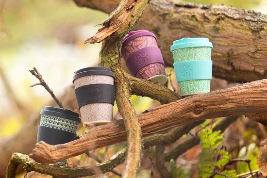Ecoffee cup Kubrick bambusov lonček, 240 ml