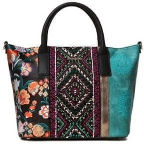 Desigual vícebarevná kabelka Bols Between Holbox Mini