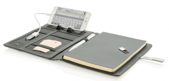 XD Design Kyoto USB (16 GB) pametni organizator P773.162, siv