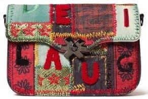 Desigual vicebarevná crossbody kabelka Bols Patch 1970 Amorgos