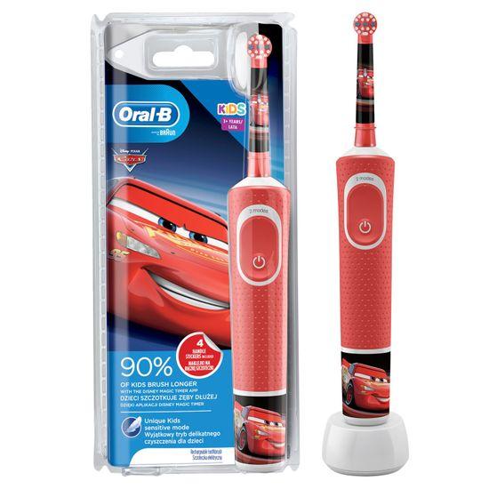 Oral-B Vitality Kids Cars otroška električna zobna ščetka