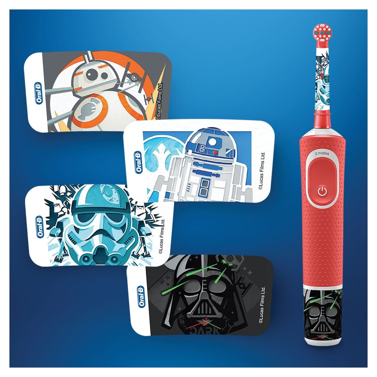 Oral-B Vitality White cross action + Vitality Star Wars časovač
