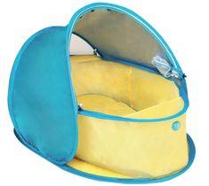 DBB Remond potovalno ležišče z zaščito UV, rumeno/modro